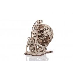 mr PlayWood Maquette en bois Globe terrestre, esprit steampunk Puzzles 3d en bois