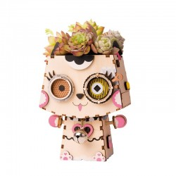 Robotime Collection de petits pots de fleurs Robotime. Accueil