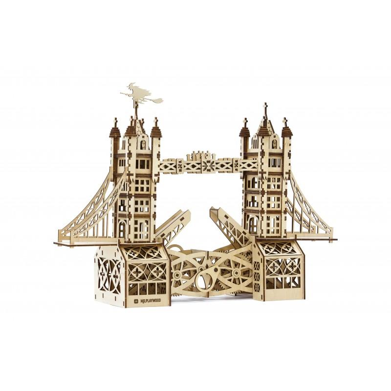 Tower Bridge puzzle en bois mr playwood https://tridipuz.fr