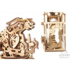 UGEARS Maquette médiévale, la Tour et la Baliste. Ugears 70048. Puzzles 3d en bois