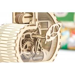 Puzzle 3d en bois, tirelire, model escargot, mr playwood, EAN 482020438021