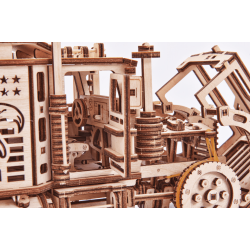 Big Rig, le camion amercain en puzzle 3d par Wood Trick. Dispo chez Tidipuz.fr