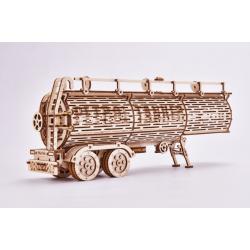 puzzle 3 d , remorque citerne  wood trick. Vendu par Tridipuz.fr