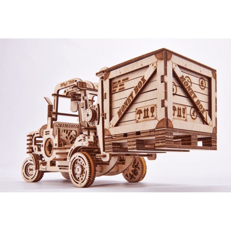 FORK LIFT TRUCK BY WOOD TRICK