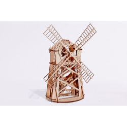 Moulin | jeux de construction en bois | jouet en bois | wood trick | https://tridipuz.fr