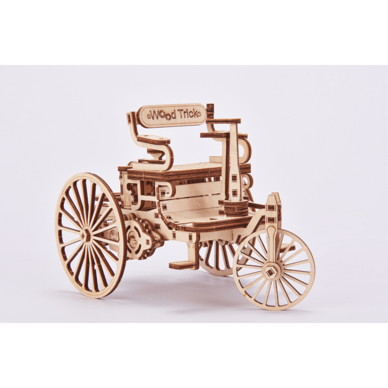 First car from Daimler provided by Wood Trick