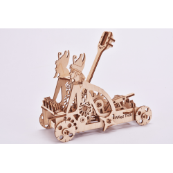 maquette , maquette en bois, puzzle 3d, jeux eco friendly, wood trick, ugears, wooden city