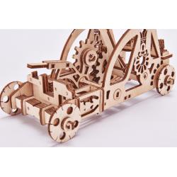 WOOD TRICK Puzzle 3d en bois, Wood Trick, la catapulte Puzzles 3d en bois