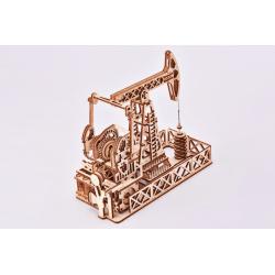 WOOD TRICK puzzle 3d en bois, la station de forage, Wood Trick Puzzles 3d en bois