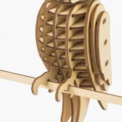 Perroquet en bois à assembler sans colle, https://tridipuz.fr, Robotime, jeux de constructions, puzzle 3d, animaux à construire.