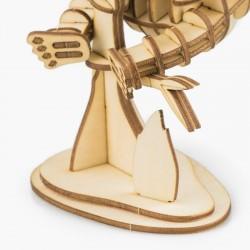 Robotime puzzle 3d animaux, Le Panda, Robotime Puzzles 3d en bois