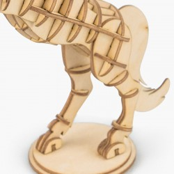 Robotime Puzzle 3d animaux, le cheval, Robotime Puzzles 3d en bois