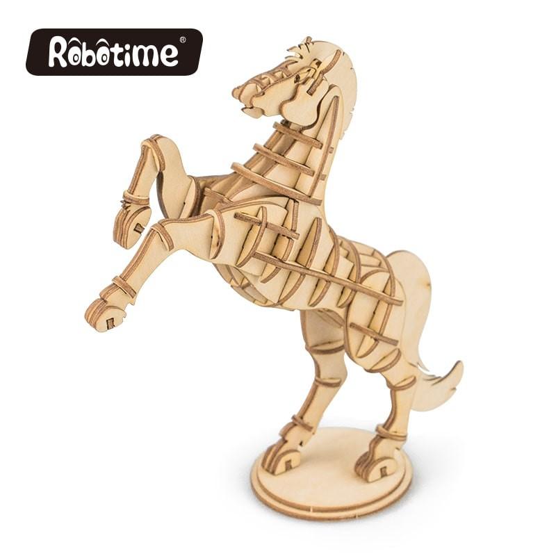 Le cheval, collection animaux à construire.