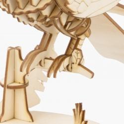 Toucan en bois à assembler sans colle, https://tridipuz.fr, Robotime, jeux de constructions, puzzle 3d, animaux à construire.