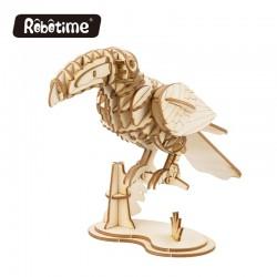 Le Toucan, oiseau en bois à...