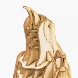 Robotime puzzle 3d animaux, le Pinguoin, Robotime Puzzles 3d en bois