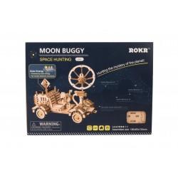 Robotime Rover lunaire, maquette espace, jouet solaire. Puzzles 3d en bois