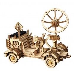 Rover lunaire robotime, tridipuz.fr, maquette en bois , jeux énergie solaire