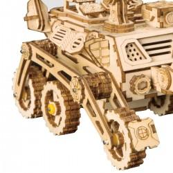 Robotime Rover Curiosity, maquette espace, jouet solaire. Puzzles 3d en bois