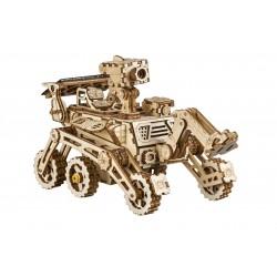 Rover curiosity robotime, tridipuz.fr, maquette en bois , jeux énergie solaire