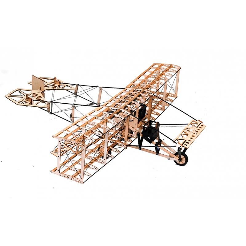DW HOBBY, kit bois du Curtiss Pusher, dispo chez Tridipuz.fr. maquette bois à assembler. aéromodélisme, maquette d'avion
