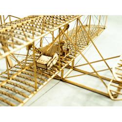maquette d'avion en bois du wright flyer, aéromodélisme, tridipuz.fr,