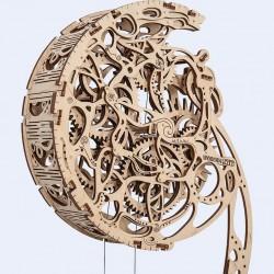 Pendule en bois wooden city à monter sans colle