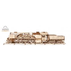 Maquette en bois mécanique de Locomotive, ugears, au meilleur prix. EAN 4820184120853