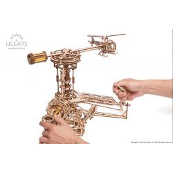 UGEARS Puzzle 3d en bois -Aviator Ugears –simulateur de pilotage Puzzles 3d en bois