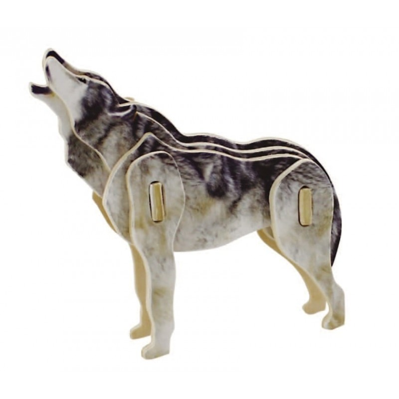 collection mini animaux, le Loup