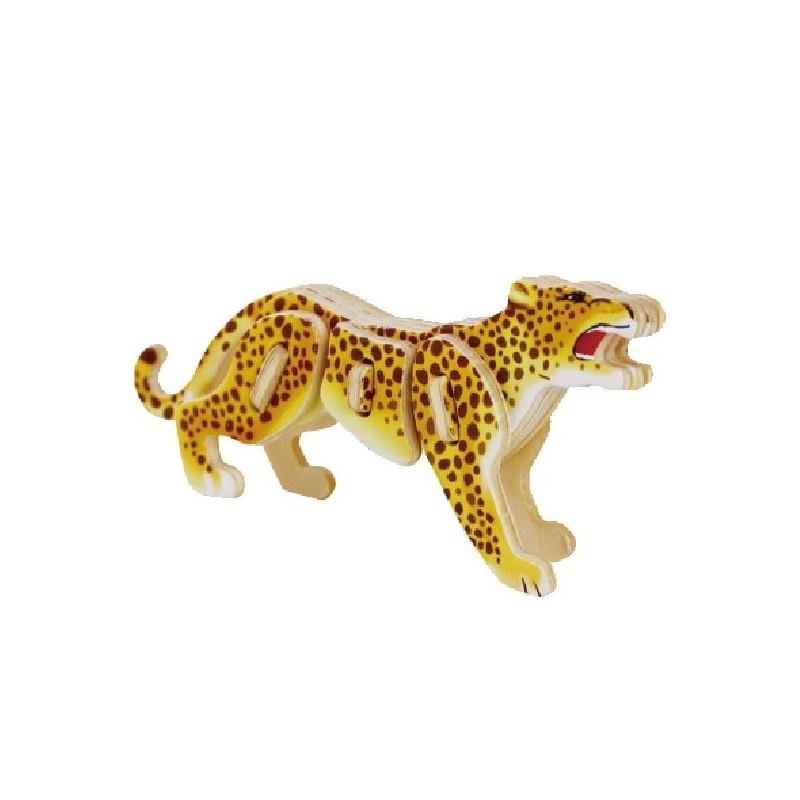Collection mini animaux, le léopard