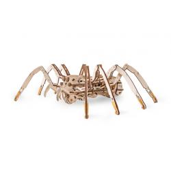 Eco Wood Art Puzzle 3d mécanique, Araignée, Eco Wood Art Puzzles 3d en bois