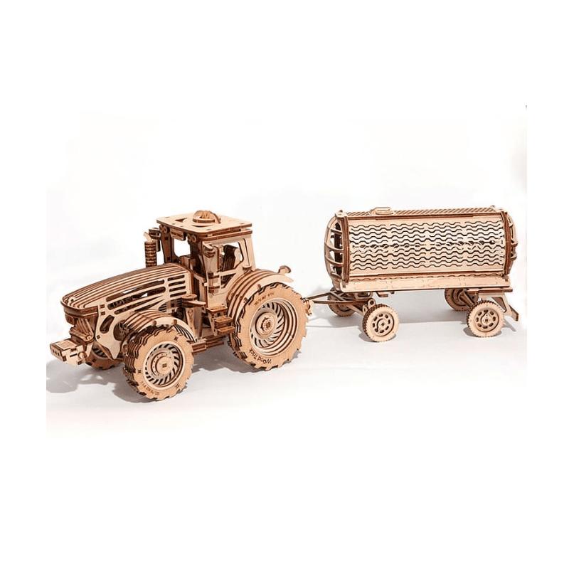Pack maquette tracteur et remorque , Wood Trick