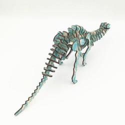 Diplodocus, dinosaure à assembler en bois découpé au laser, tridipuz.fr