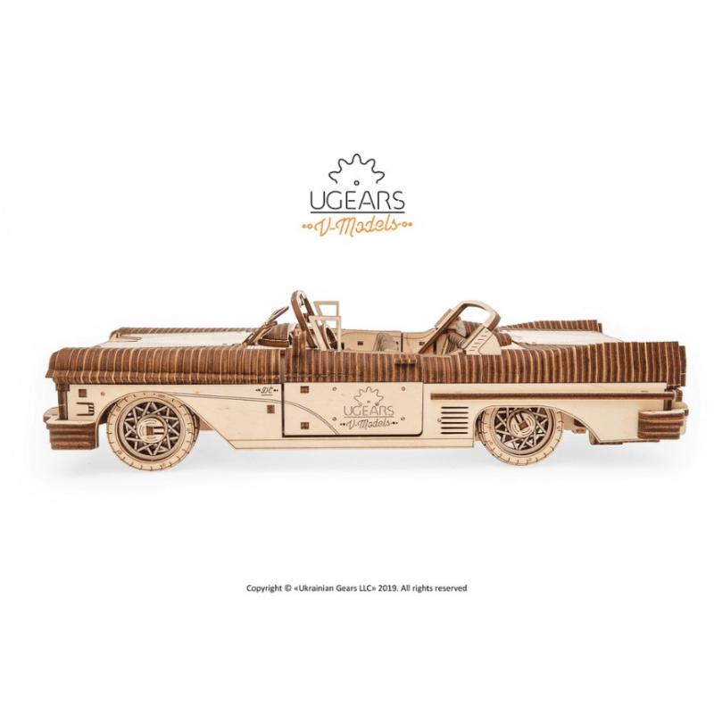 Cabriolet Ugears, série V models