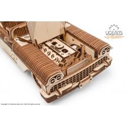 UGEARS Maquette en bois mécanisées de cabriolet Ugears Puzzles 3d en bois