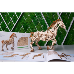 ugears models EAN 4820184120884 tridipuz.fr cheval bionique