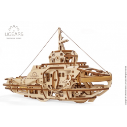 Ugears Tugboat, le remorqueur.