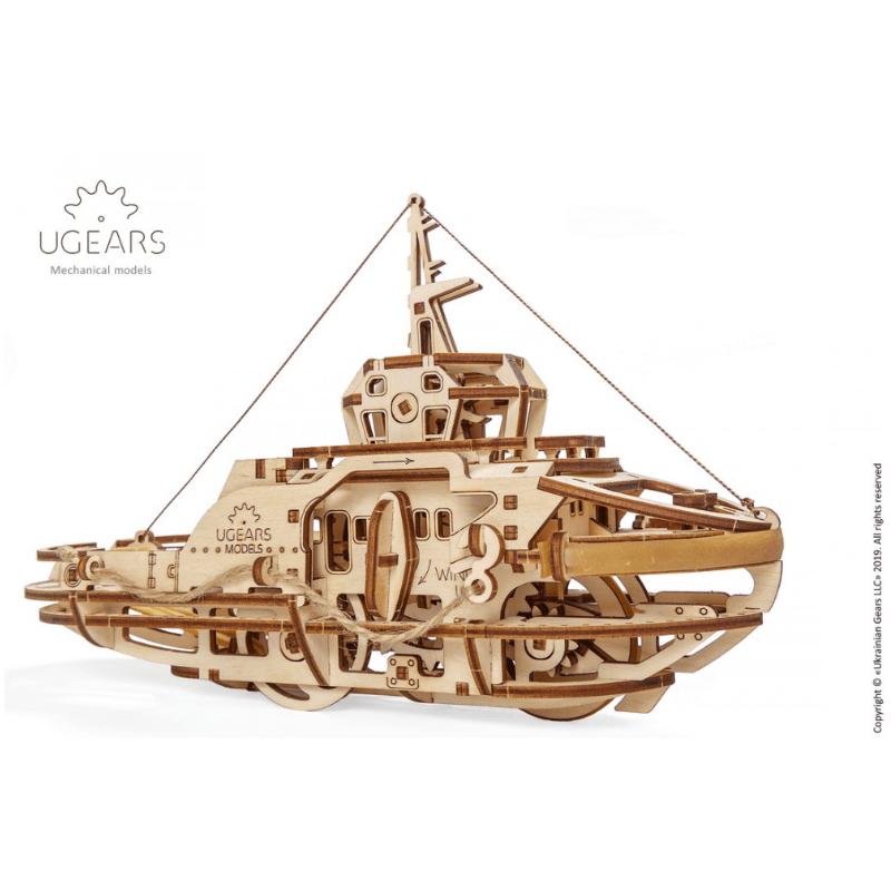 remorqueur Ugears models tridipuz.fr EAN 4820184120983