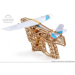 Puzzle 3d en bois - Aéro-Lanceur Ugears Puzzles 3d en bois