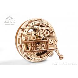 EAN 4820184120990, monocycle maquette en bois steampunk ugears, tridipuz.fr