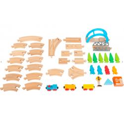 """Small Foot Chemin de fer en bois """"Grand Voyage"""", Legler, Small Foot Jeux et jouets en bois enfants"""