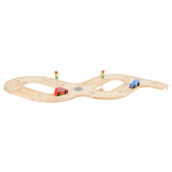 petit circuit de voiture en bois small foot 10801, tridipuz.fr
