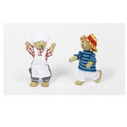 GOKI Garde-robe pour ours, boîte de vêtements, Benna & Bennoh Accueil