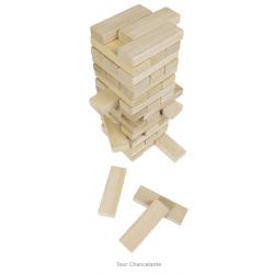 GOKI Tour chancelante en bois naturel Accueil