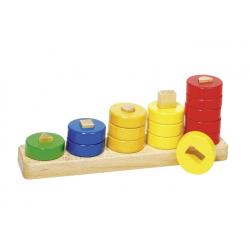 jeu d'apprentissage en bois, goki, 4013594589680