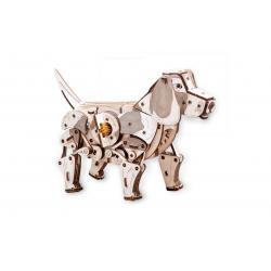 Puzzle 3d mécanique en bois, le chiot 4815123000730