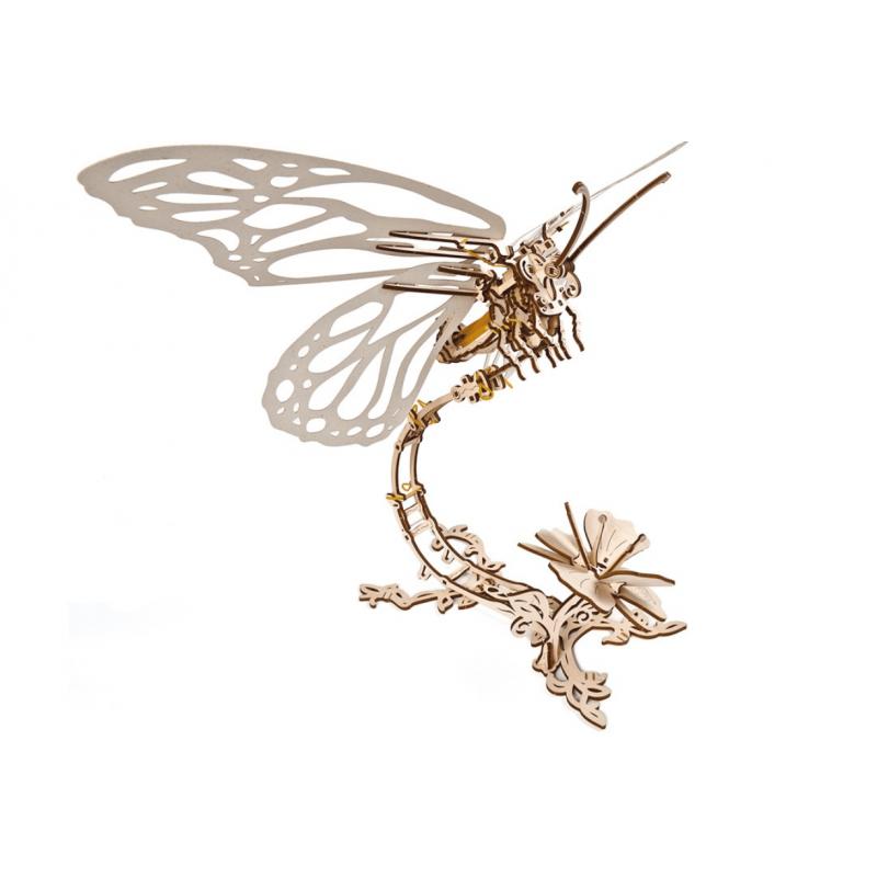 Maquette mécanique, papillon, ugears, rêve de nature