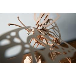 UGEARS Maquette mécanique, papillon, Ugears, rêve de nature Puzzles 3d en bois