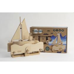 automate timberkits, le voilier et le marin